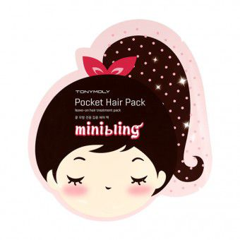 TonyMoly Mini Bling Pocket Hair Pack - Маска для волос