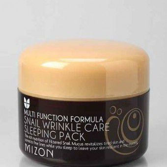 Mizon Snail Wrinkle Care Sleeping Pack - Улиточная маска