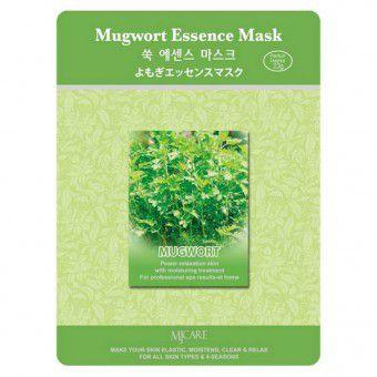 Mijin Mugwort Essence Mask - Маска противовоспалительная