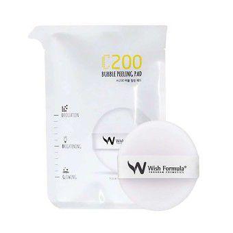 Wish Formula C200 Bubble Peeling Pad (for face single) - Пилинг для лица