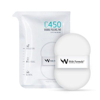 Wish Formula C450 Bubble Peeling Pad (for the body single) - Пилинг для тела