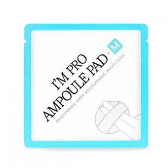 Wish Formula I'm Pro Ampoule Pad – M (single) - Экстраувлажняющий и питательный диск для лица с муцином улитки