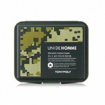 TonyMoly Uni De Homme Dynamic Camo Cream - Крем - камуфляж