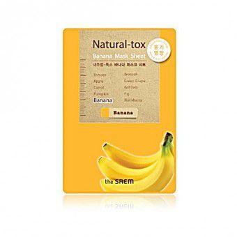 The Saem Natural – tox Banana Mask Sheet - Маска - детокс