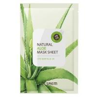 Natural Aloe Mask Sheet - Маска с алое