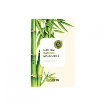 The Saem Natural Bamboo Mask Sheet - Тонизирующая маска