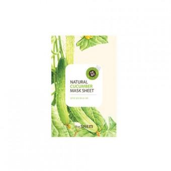 Natural Cucumber Mask Sheet - Увлажняющая маска
