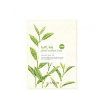 The Saem Natural Green Tea Mask Sheet - Антиоксидантная маска