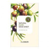 Natural Olive Mask Sheet - Маска увлажняющая
