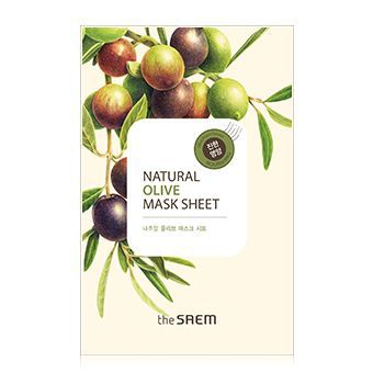 The Saem Natural Olive Mask Sheet - Маска увлажняющая