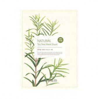The Saem Natural Tea Tree Mask Sheet - Маска тонизирующая