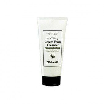 TonyMoly Naturalth Goat Milk Cream Foam Cleanser - Пенка для умывания с козьим молоком