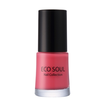 Eco Soul Nail Collection Jelly 03 Blooming Pink - Лак для ногтей
