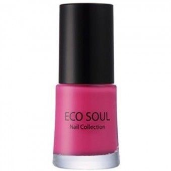 The Saem Eco Soul Nail Collection Jelly 04 Hot Pink - Лак для ногтей