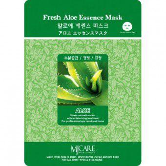 Mijin Fresh Aloe Essence Mask - Маска тонизирующая