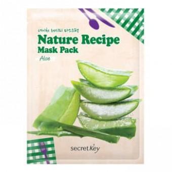 Secret Key Nature Recipe Mask Pack_Aloe - Маска с алое