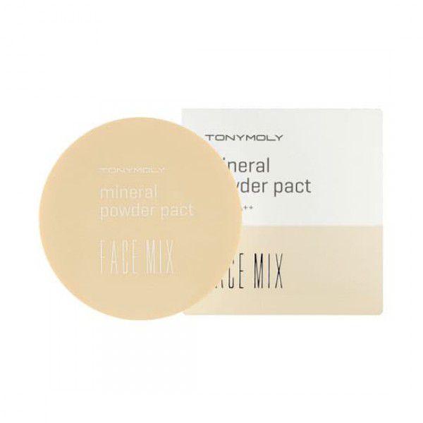 Face Mix Mineral Powder Pact 02 Warm Beige - Пудра минеральная