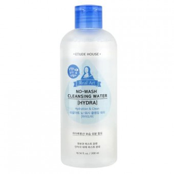 Etude House Real Art Nowash Cleansing Water Hydra - Мицелярная вода