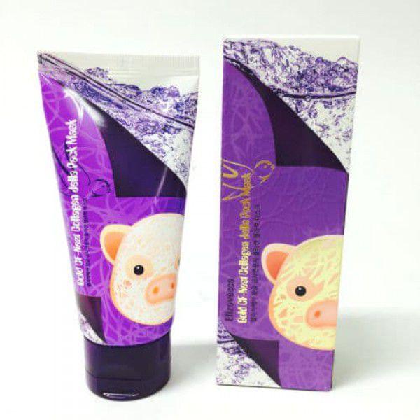 Gold Cf-Nest Collagen Jella Pack Mask - Маска для лица