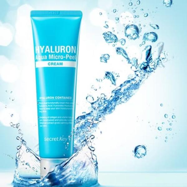 Hyaluron Aqua Micro-Peel Cream - Крем гиалуроновый