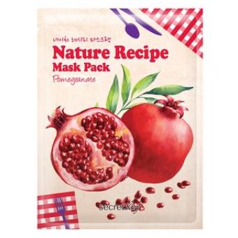 Secret Key Nature Recipe Mask Pack_Pomegranate - Омолаживающая маска