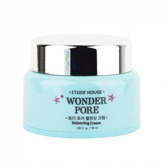 Etude House Wonder Pore Balancing Cream - Крем для сужения пор