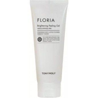 TonyMoly Floria Brightening Peeling Gel - Пилинг-гель для лица осветляющий (скатка)