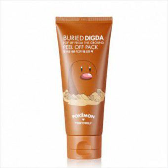 TonyMoly Buried Digda Pop Up From The Ground Peel Off Pack (Pokemon) - Маска - пленка для лица
