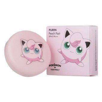TonyMoly Purin Peach Pact ( Pokemon Edition ) 02 - Компактная пудра