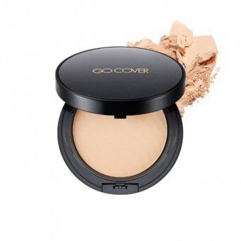 TonyMoly Go Cover HD Powder Pact 01 - Компактная пудра
