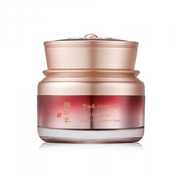 Hanyacho Golden Lifting Secret Cream - Антивозрастной крем с женьшенем