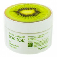 Fruity Capsule Tok Tok Sleeping Pack Kiwi - Ночная маска для лица