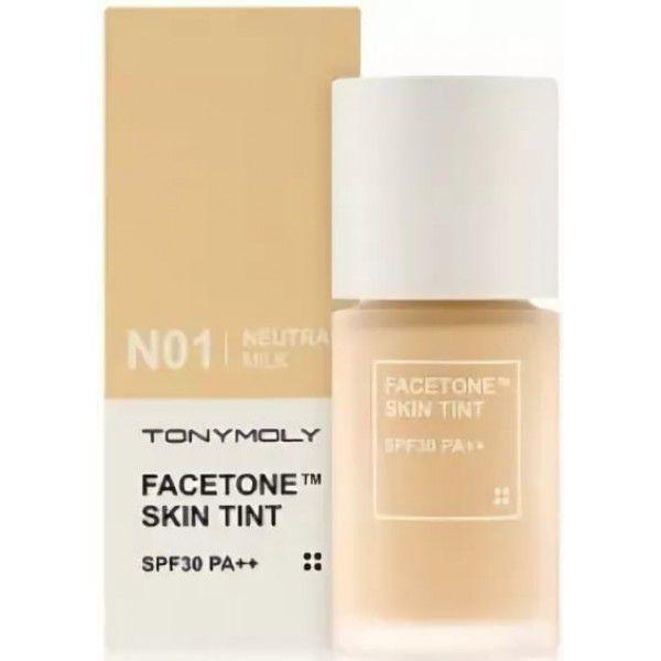 Facetone Skin Tint N01 - Тональная основа