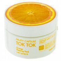 Fruity Capsule Tok Tok Sleeping Pack Orange - Ночная маска для лица