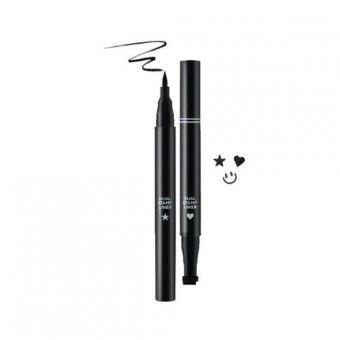 TonyMoly Perfect Eyes Dual Stamp Liner 01 - Подводка для глаз со штампом