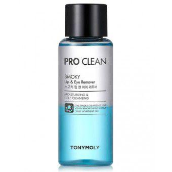 TonyMoly Pro Clean Smoky Lip & Eye Remover 250 ml. - Средство для снятия макияжа с губ и глаз