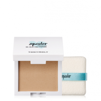 TonyMoly Spoiler Puff Oil Paper - Матирующие салфетки