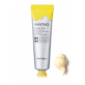 TonyMoly Painting Therapy Pack Moisturizing - Маска для лица