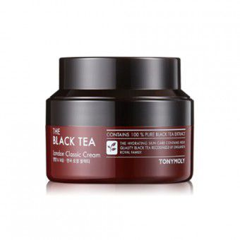 TonyMoly The Black Tea London Classic Cream - Антивозрастной крем с экстрактом чёрного чая