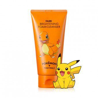 TonyMoly Pokemon Foam Cleanser Fairi Brightening - Осветляющая пенка для умывания