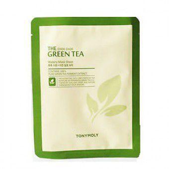 TonyMoly The Chok Chok Green Tea Watery Sheet - Тканевая маска с зеленым чаем