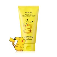 Pokemon Foam Cleanser Pikachu Moisture - Увлажняющая пенка для умывания