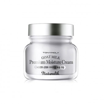 TonyMoly Naturalth Goat Milk Premium Moisture Cream - Крем увлажняющий на основе козьего молока