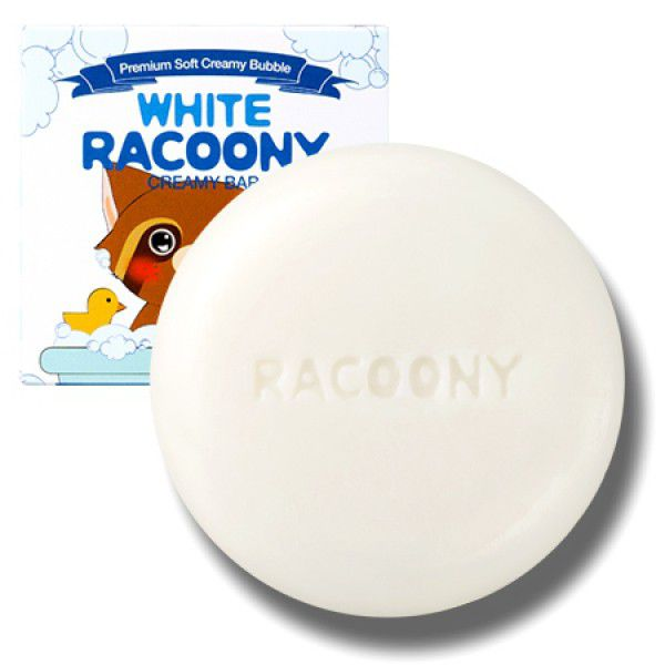 White Racoony Creamy Bar - Осветляющее мыло