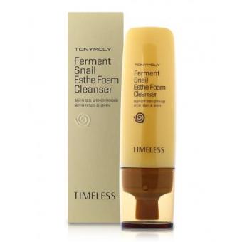 TonyMoly Timeless Ferment Snail Esthe Foam Cleanser - Пенка для глубокого очищения кожи с муцином улитки