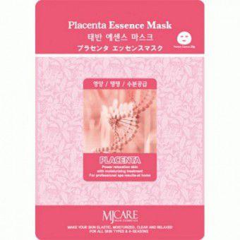 Mijin Placenta Essence Mask -  Маска тканевая плацента