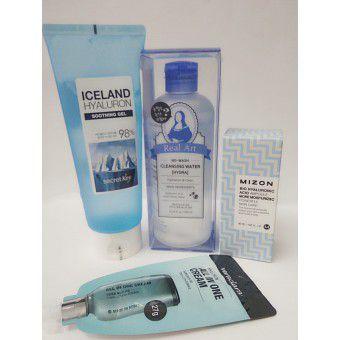 Mizon Hyaluronic Set - Набор по уходу за кожей лица и тела с гиалуроновой кислотой
