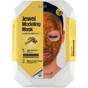ILOJE Jewel Modeling Mask Glam Gold - Моделирующая маска для лица с частицами золота