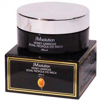 JM Solution Honey Luminous Royal Propolis Eye Patch - Регенерирующие патчи с прополисом