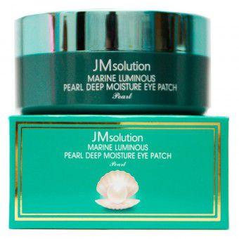 JM Solution Marine Luminous Pearl Eye Patch - Патчи с морскими минералами и жемчугом